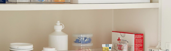 A checklist for your home medicine cabinet